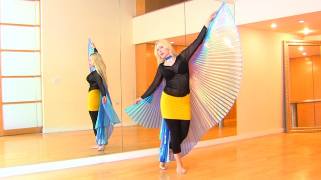 Belly Dance with Wings 2 - Instruction