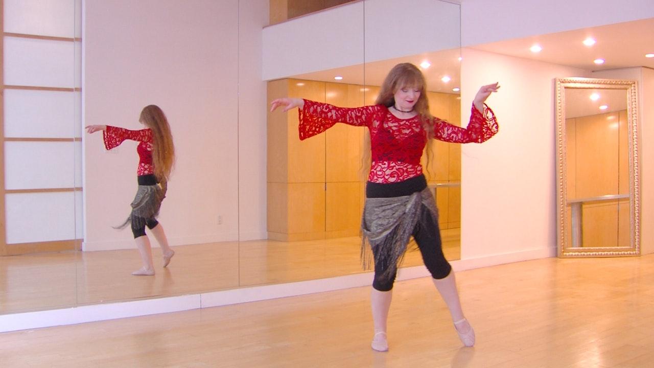 Elastic Fantastic Belly Dance Combination