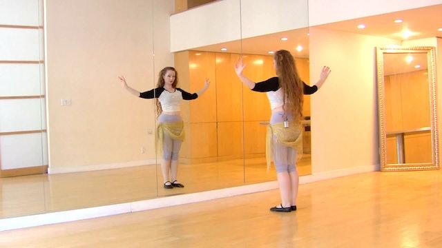 The River - Veil Belly Dance Course - Class 2