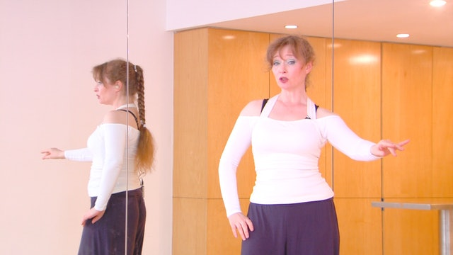 Belly Dance Chest Circles with Autumn Ward