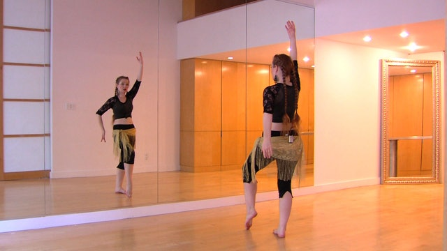"""Alf Layla"" Beginner Belly Dance Course - Lesson 7"