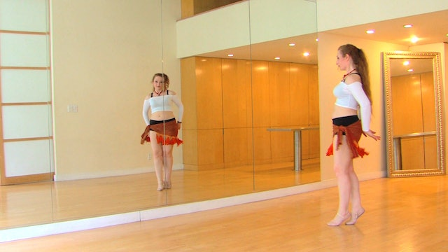 """""""Ismail"""" Advanced Belly Dance Course Lesson 5"""