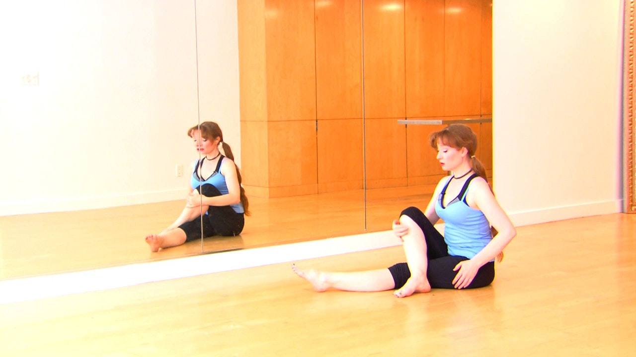 Basic Gentle Warmup with Floor Stretches -  Autumn