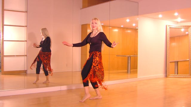 Belly Dance Hipwork Practice choreography - Neon
