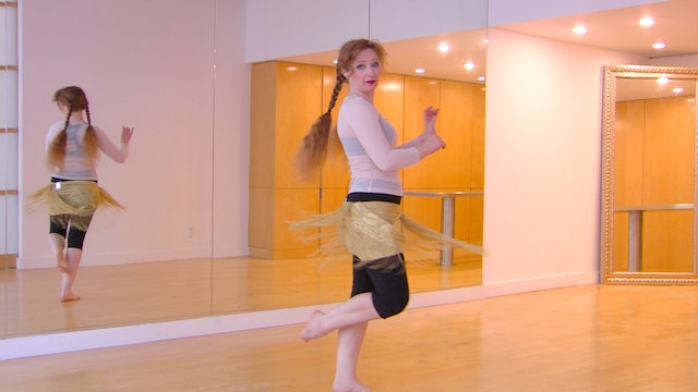 Orientation for Continuing Belly Dance Beginners: Arms Overview, Practice and Qu