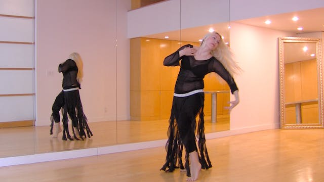 Connecting Upper Body Belly Dance Moves with Neon