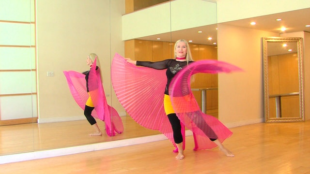 Belly Dance with Wings 2 - Practice