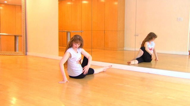 Basic Gentle Warmup with Floor Stretches - Flipped