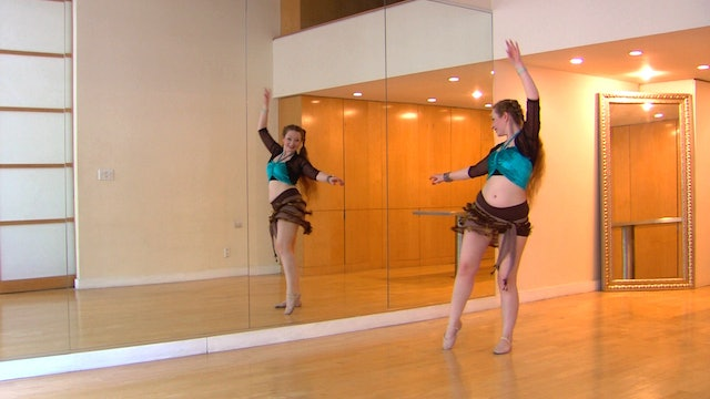 """""""Ismail"""" Advanced Belly Dance Course Lesson 6"""