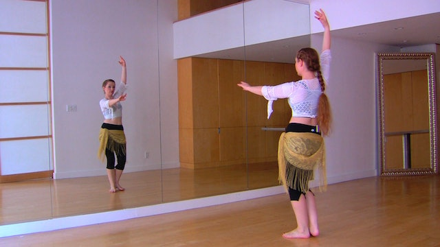 """Alf Layla"" Beginner Belly Dance Course - Lesson 5"