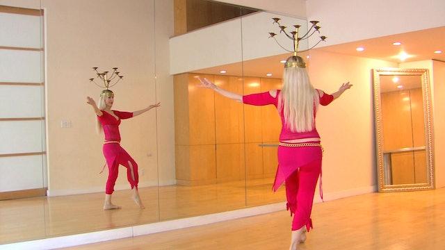 Belly Dance Candelabrum / Shemadan - class 2