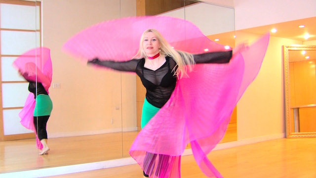 Belly Dance with Wings - non-stop practice 90 min.