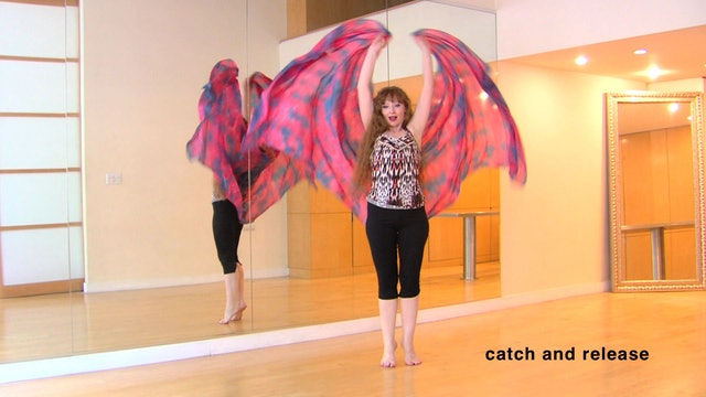 Belly Dance Veil Masterclass 1: Step-by-Step