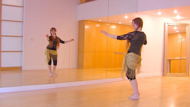 Belly Dance Progressive Technique Drill: Hip Tilts