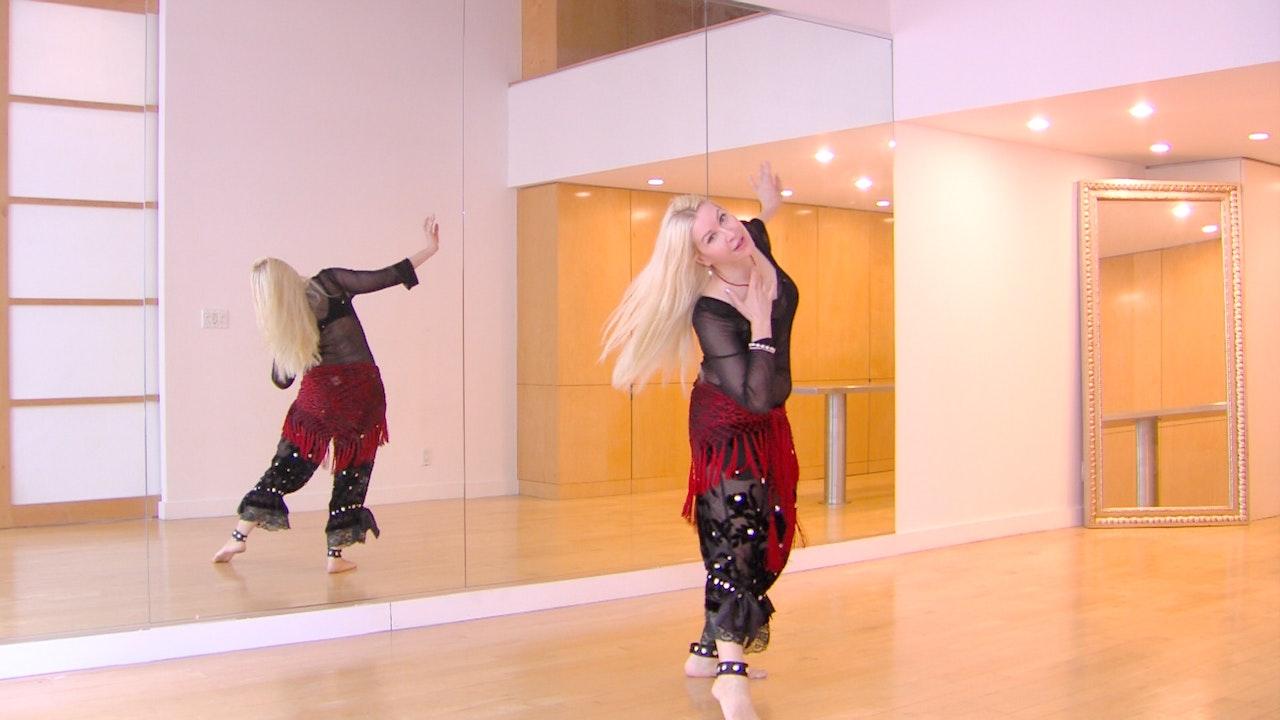 Oriental Dance/ Belly Dance Taksim & Fluid Accents
