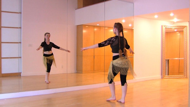 """Alf Layla"" Beginner Belly Dance Course - Lesson4"