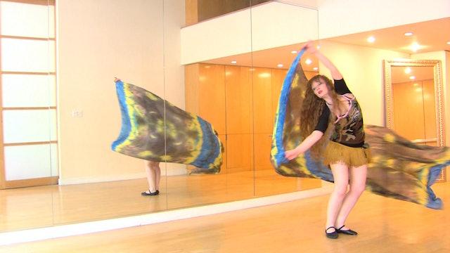 The RiverVeil Belly Dance Course - Class 7
