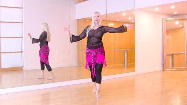 Add Sophisitcation to Classic Belly Dance Steps