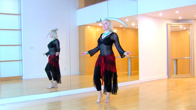 Belly Dance Balancing Drills - Percussive Moves