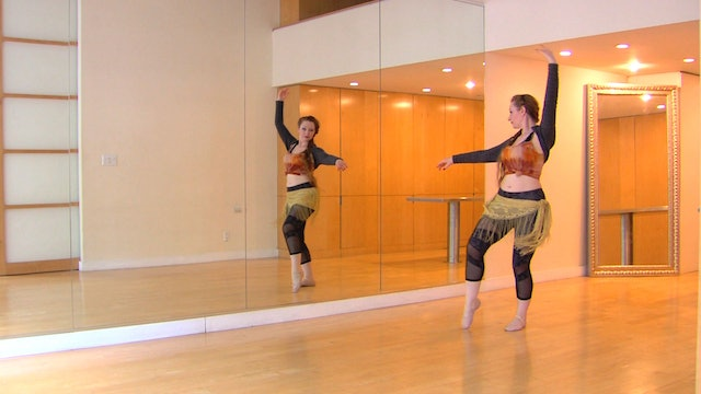 """""""Ismail"""" Advanced Belly Dance Course Lesson 4"""