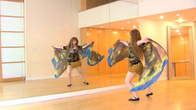 The RiverVeil Belly Dance Course - Class 6