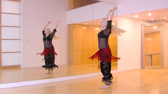 Belly Dance Taksim/Fluid Accents - PRACTICE ONLY