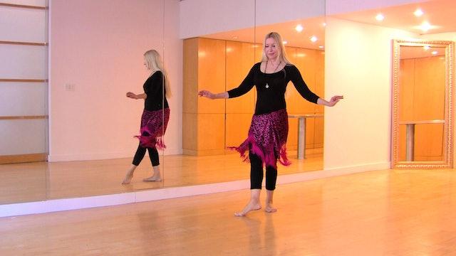 Belly Dance Percussive Hipwork Technique Drills