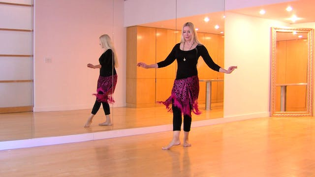 Belly Dance Percussive Hipwork Technique Drills