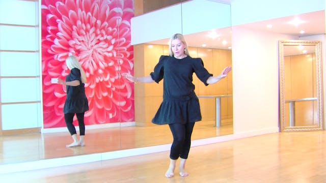 Belly Dance Hipwork Drills Inspired by Latin Dance