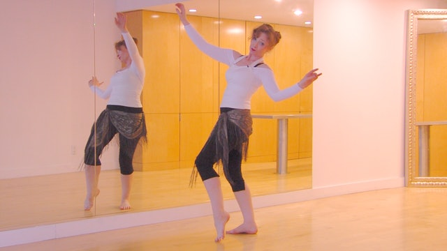 Belly Dance Backbend from the Knees