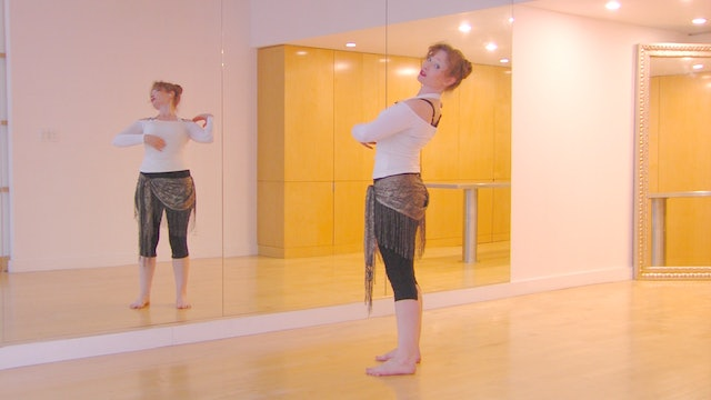 Belly Dance Small Backbend with Autumn Ward