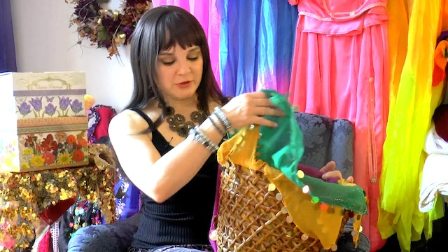 The Belly Dance Gig Basket with Tanna Valentine