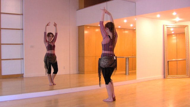 """Alf Layla"" Beginner Belly Dance Course - Lesson 8"