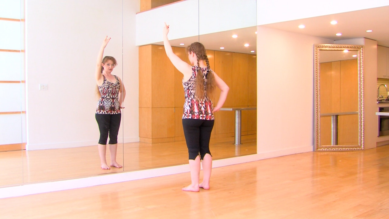 Ribcage Circles Practice Flow with Autumn Ward