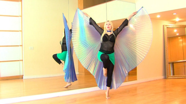 Belly Dance with Wings 3 -Instruction