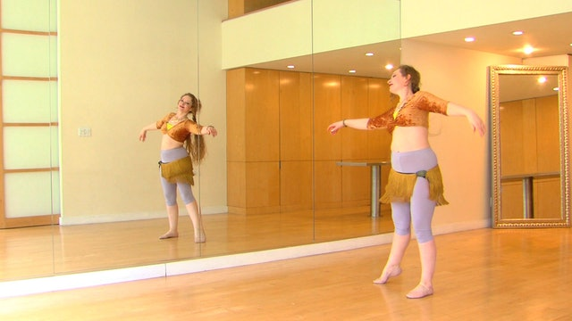 """""""Ismail"""" Advanced Belly Dance Course Lesson 3"""