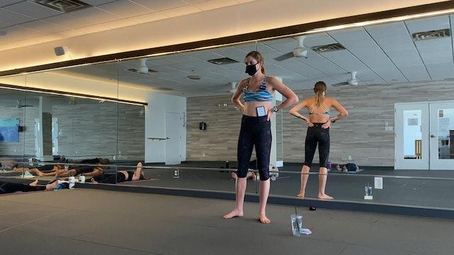 Studio 60min Hot Pilates with Caroline