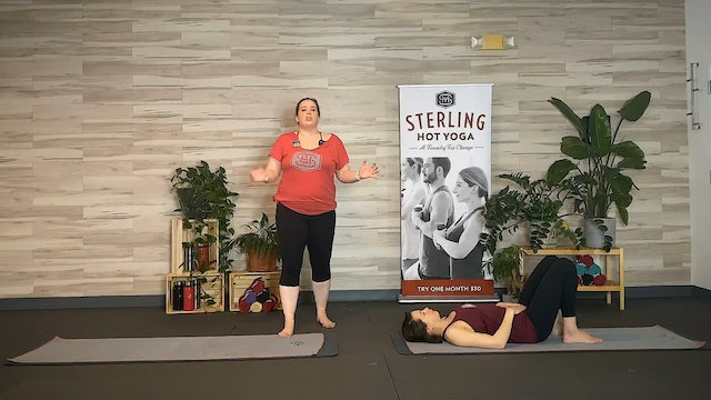 R - 60min Hot Pilates with Erin
