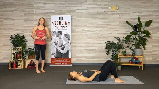 S - 45min Hot Pilates with Caroline