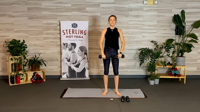 30min Upper Body and Core With Caro #6