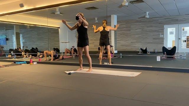 Studio 60min Hot Pilates with Jodi