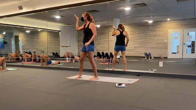 Studio Hot Pilates 60m with Jodi