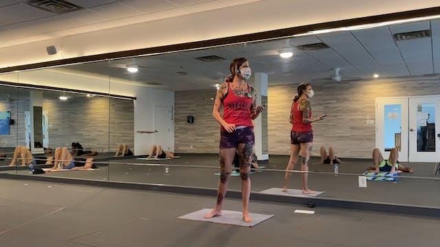 Studio Hot Pilates 60min with Kate