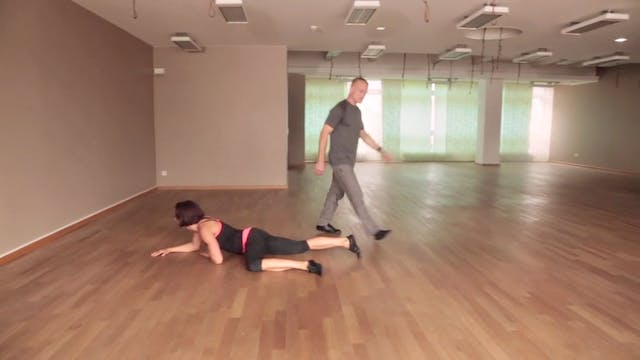Steve Maxwell Baby Crawling 101 - Workout