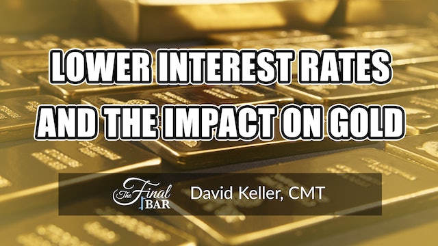 Lower Interest Rates and the Impact on Gold   David Keller, CMT (06.08)