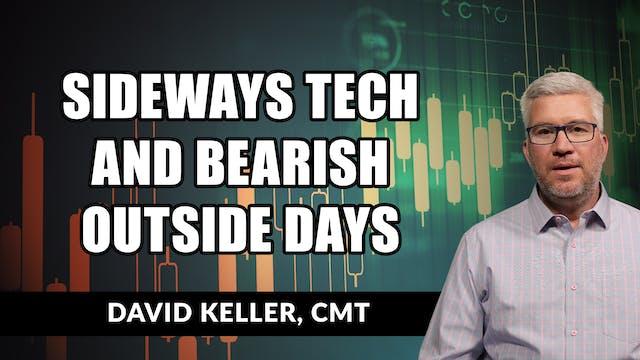 Sideways Tech and Bearish Outside Day...