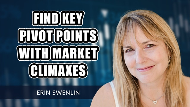 Market Climaxes Can Help You Find Key Pivot Points | Erin Swenlin (09.13)