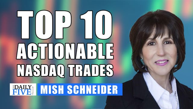 Top 10 Actionable Nasdaq Trades | Mis...
