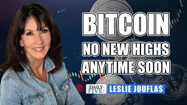 Bitcoin - No New Highs Anytime Soon | Leslie Jouflas, CMT (05.25)