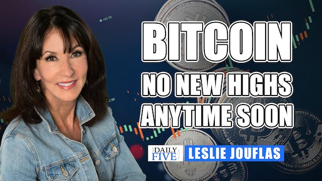 Bitcoin - No New Highs Anytime Soon |...
